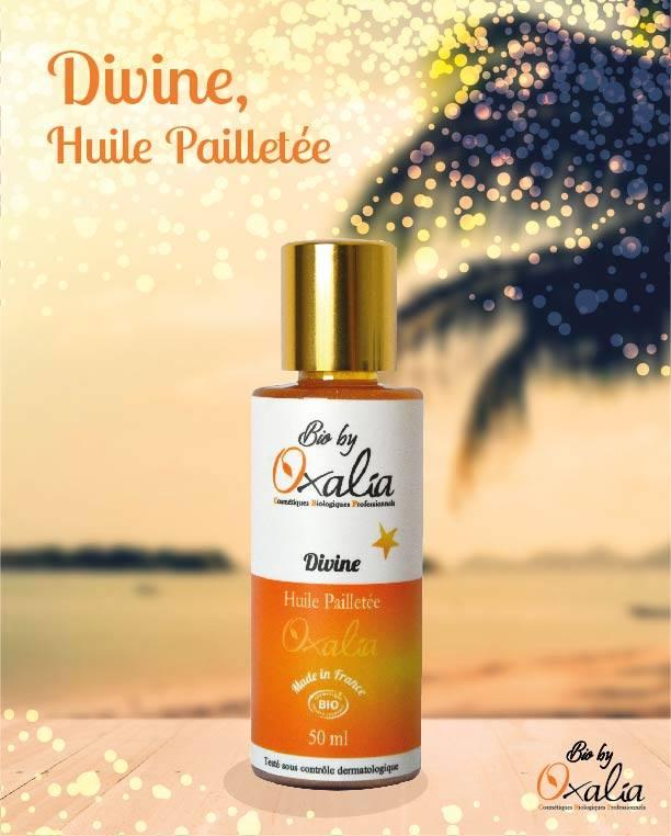 Divine huile pailletée Oxalia